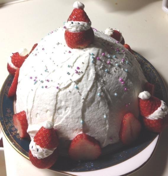 今年のクリスマスは手作りケーキを中心に簡単メニューでホームパーティー!