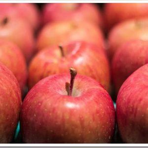 美味しいりんごの選び方と、リンゴの栄養と効能について。