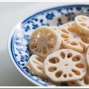 レンコンの栄養や効能や美味しい食べ方について。