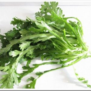 美味しい春菊の選び方と春菊の栄養や効能について。